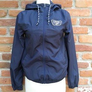 VANS Full Zipper Hooded Windbreaker Jacket